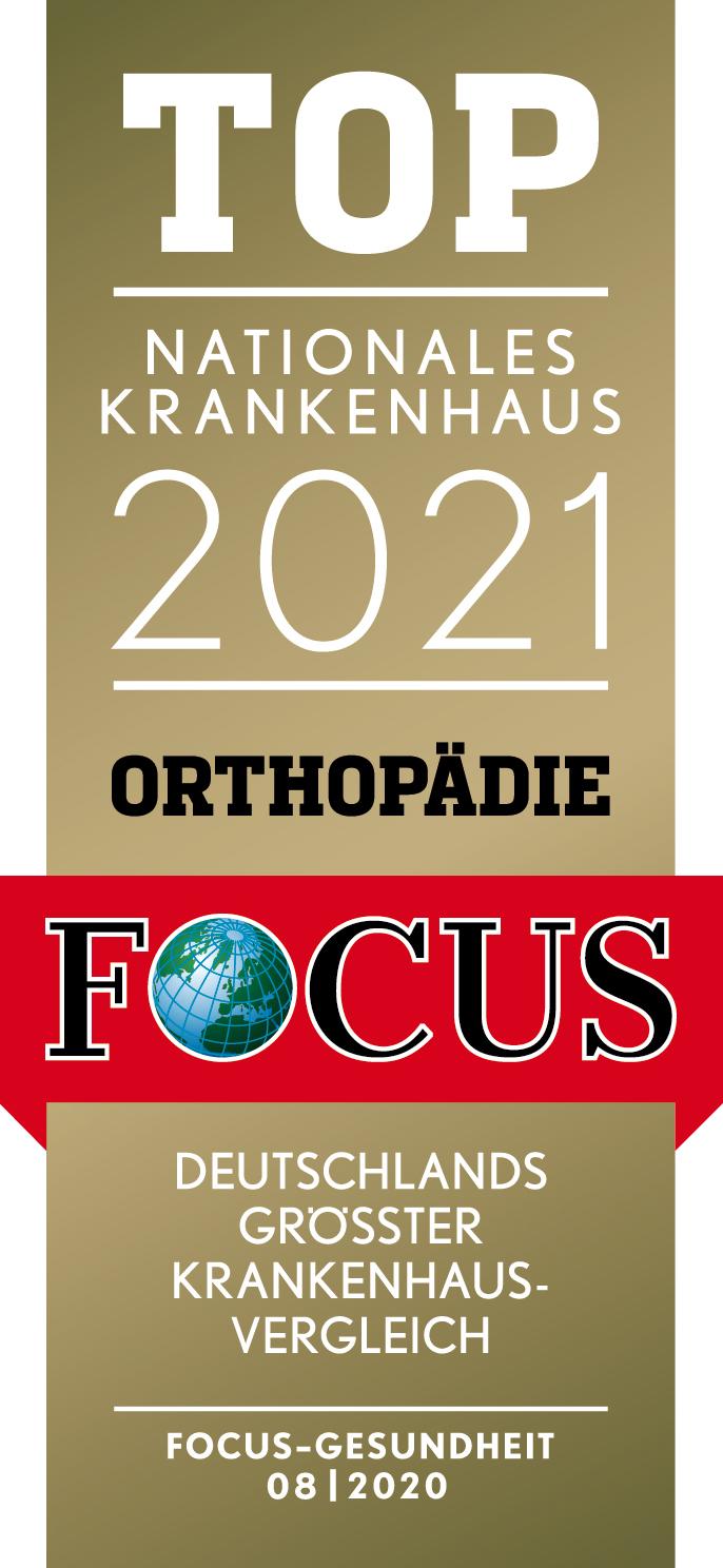 Focus ärzteliste Urologie 2021